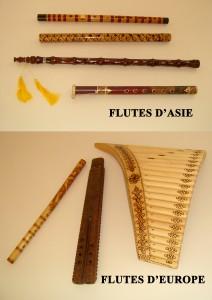 17-Flutes Asie Europe